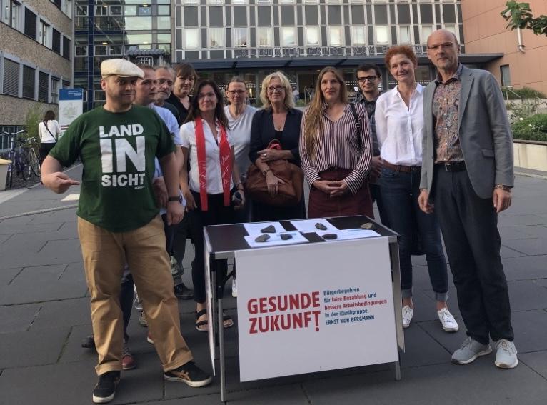 Bürgerbegehren Klinikgruppe Ernst von Bergmann